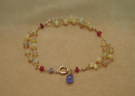 """Opal """"W"""" Bracelet"""