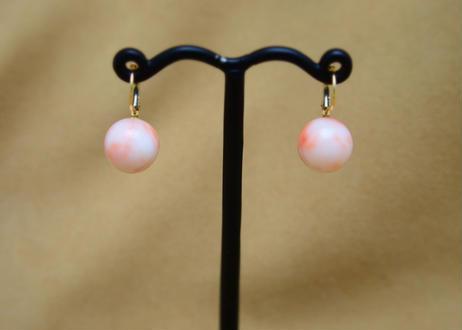 Coral German Earrings