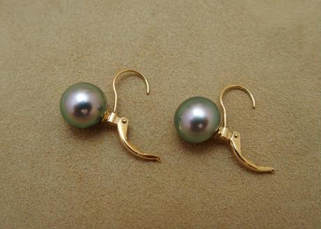 TAHITIAN Black Pearl Earrings (10mm)