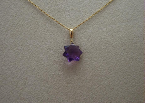 Amethyst Pendant Top(star)