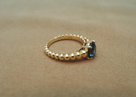 """London Blue Topaz """"Doux""""Ring(r/d)"""