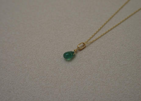 Emerald Pendant Top (p/p)