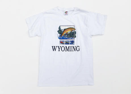 WYOMING Souvenir S/S T Shirts