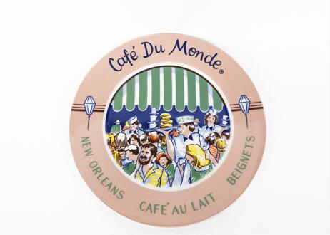 Cafe Du Monde Ceramic Plate