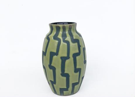 Green Glaze Pottery Vase