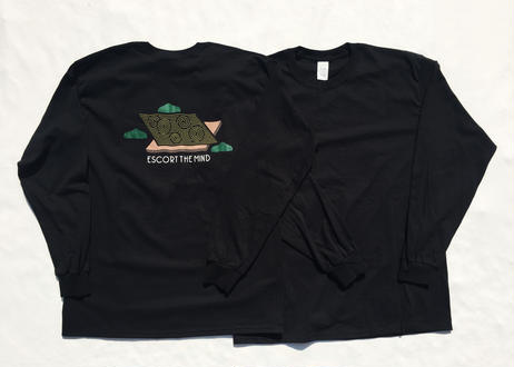"TRIPWIRE ""ESCORT THE MIND"" Long sleeve T-shirts"