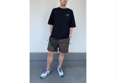 GeG オリジナルサイン 半袖Tシャツ(刺繍ロゴ) ブラック