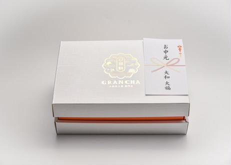 2021年夏 お中元 口福極プリン6個(抹茶・ほうじ茶各3個) 和包装