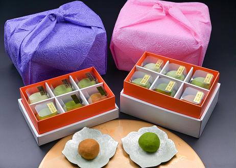 2021年夏 お中元 口福餅(12個入り・全種類詰め合わせ)  和包装