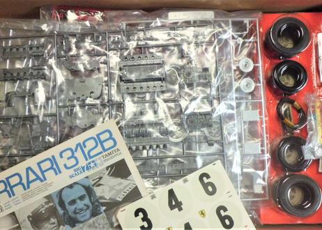 タミヤ 1/12 フェラーリ 312B<再販>