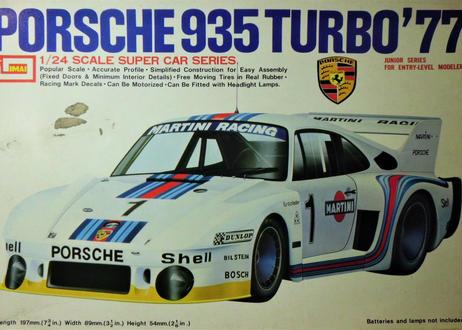 イマイ 1/24 ポルシェ 935 TURBO '77<輸出Ver.>