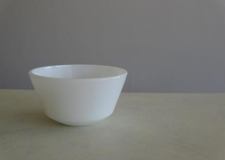 ミルクガラス オパリン 白いラムカン プチボル イギリス製