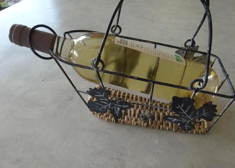 フランスブロカント 葡萄のアイアン ワインラック