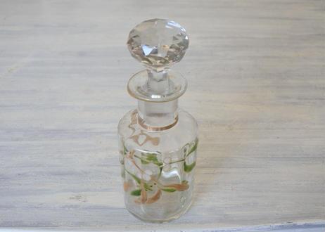 ヤドリギ エナメル彩 クリスタル 香水ボトル【2020DEC-048】