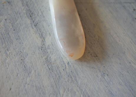 デザート用 白蝶貝とヴェルメイユ 小さなカトラリーセット〖202104-56〗