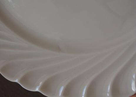リモージュ アヴィランド 白いポーセリン デザート皿 19.5cm 3枚セット〖202109-18〗