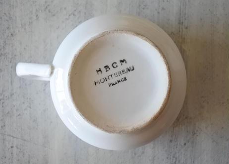 HBCM モントロー 白いカップ 〖202104-29〗