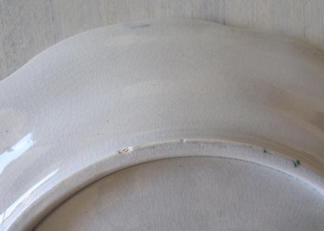 バルボティーヌ DIGOIN ディゴワン アザミ あざみ柄 アスパラプレート 直径25.7cm  #1