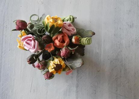 ペーパーフラワー お花のブーケ〖202104-02〗