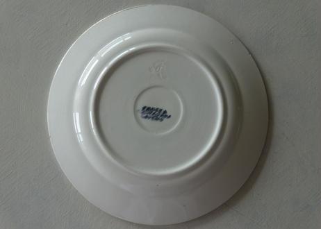 イタリア製 グリザイユのいちご柄 デザート皿