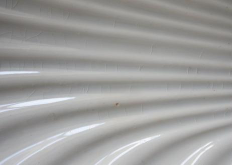 クレイユエモントロー シェル型 レリーフ 白いラヴィエ〖202101-39〗
