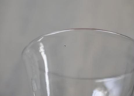フランスヴィンテージ ビストログラス 高さ11.5cm〖202103-15〗