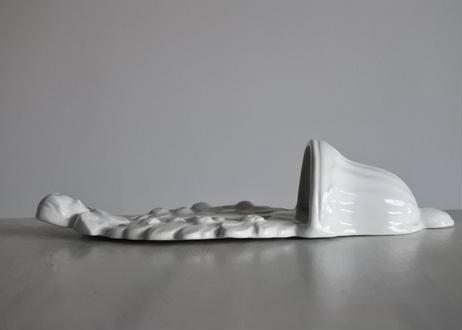 リュネヴィル 天使の白いベニチエ 聖水盤【2020DEC-020】