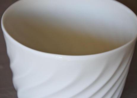 リモージュ アヴィランド 白いポーセリン カップ&ソーサー 4客セット Bランク〖202109-24〗