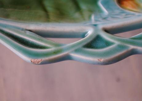 バルボティーヌ ひまわり 向日葵 ヒマワリ 柄 持ち手付きケーキ用大皿 直径29.7cm
