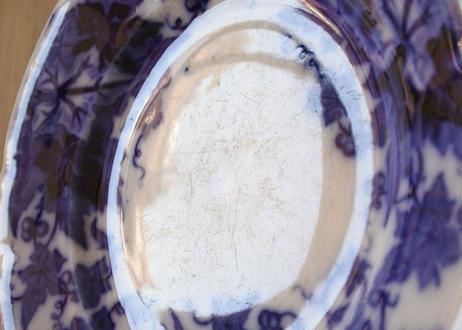 サルグミンヌ ブリオニア 濃いブルー デザートプレート #1〖202107-23〗