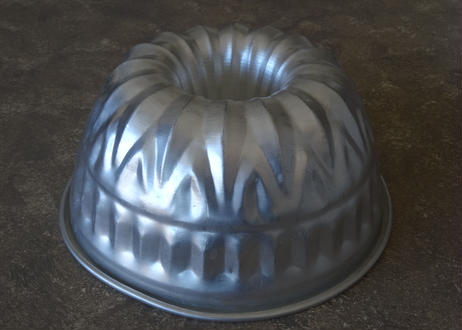 アルミ製 ケーキ型 クグロフ 口径23.5cm