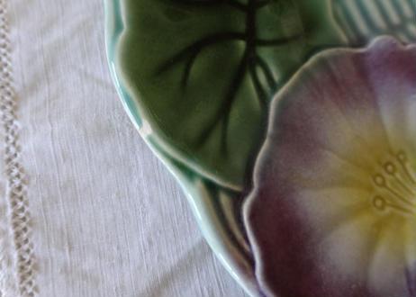 バルボティーヌ ヴィンテージ お花のレリーフ デザート皿