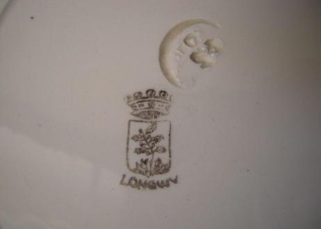 LONGWYロンウィのデザート用プレート 21.8cm
