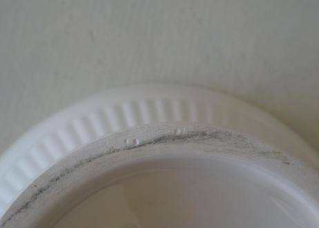 イギリスヴィンテージ クリームウェア レードル付き 蓋付カカップ
