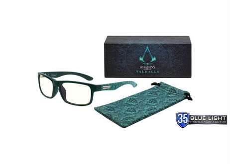 RX Enigma - Assassin's Creed: Valhalla Edition - Teal (青緑) _ 度入りレンズ (+5.00 ~ -5.00)