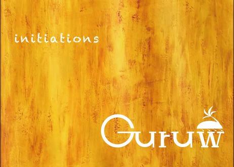 Guruw 1st Full Album『initiations』〈CD〉