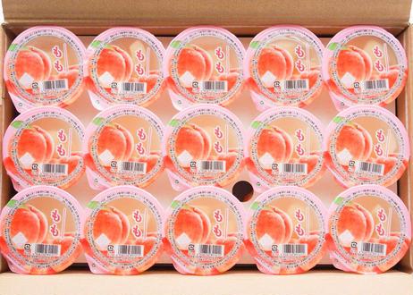 【一部エリア送料無料】果肉がゴロっと入った桃ゼリー(30個)