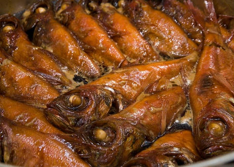 浜の湯名物「金目鯛姿煮」(大サイズ1匹:内容量650g~749g))