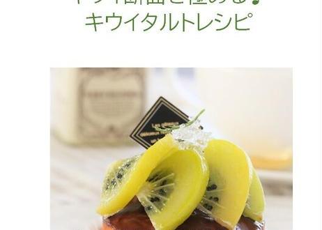 【完成見本作品付きレシピ】キウイタルト