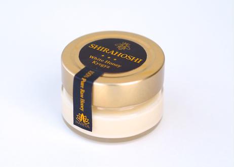 SHIRAHOSHI(ホワイトハニー)110g Pure非加熱・無添加 Raw Honey