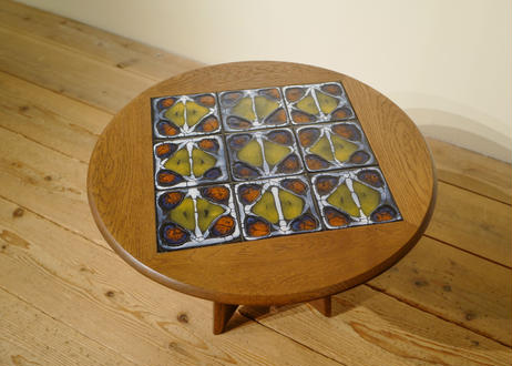 Guillerme et Chambron / Round Coffee Table