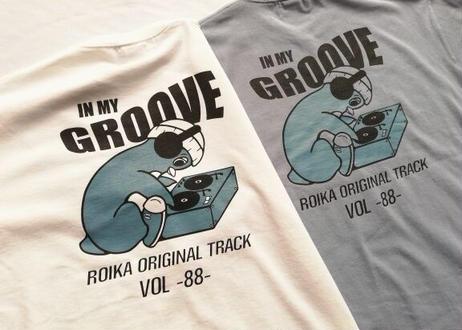 ROIKA/ペンギンレコード/Tシャツ/ホワイト