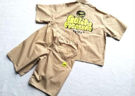 ROIKA/オープンカラーシャツ/くすみベージュ