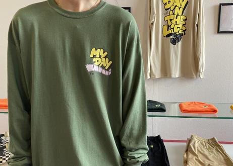 ROIKA/DITL/ロンT/オリーブ