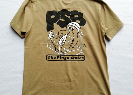 ROIKA/PSB/Tシャツ/サンドカーキ