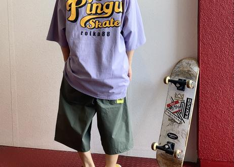 ROIKA/The Pingu Skates/Tシャツ/フリーサイズ/パープル