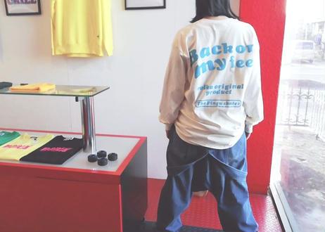ROIKA/サルエルオーバーオール/ブルー