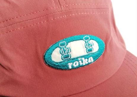 ROIKA/ショートジェットキャップ/くすみピンク