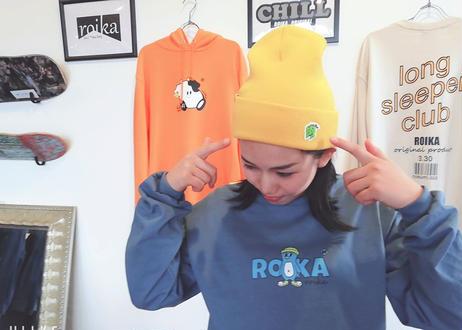 ROIKA/ニットキャップ/ゴールド