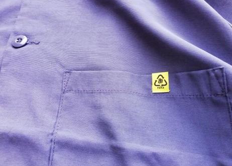 ROIKA/CHILLシャツ/ラグランBIGシルエット/ネイビー